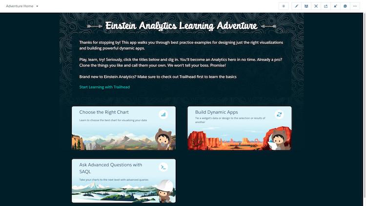 Практические советы по освоению Einstein Analytics