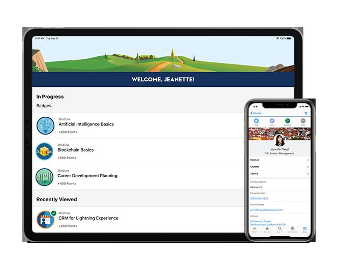 Сотрудничество Apple и Salesforce объединяют возможности устройств и CRM
