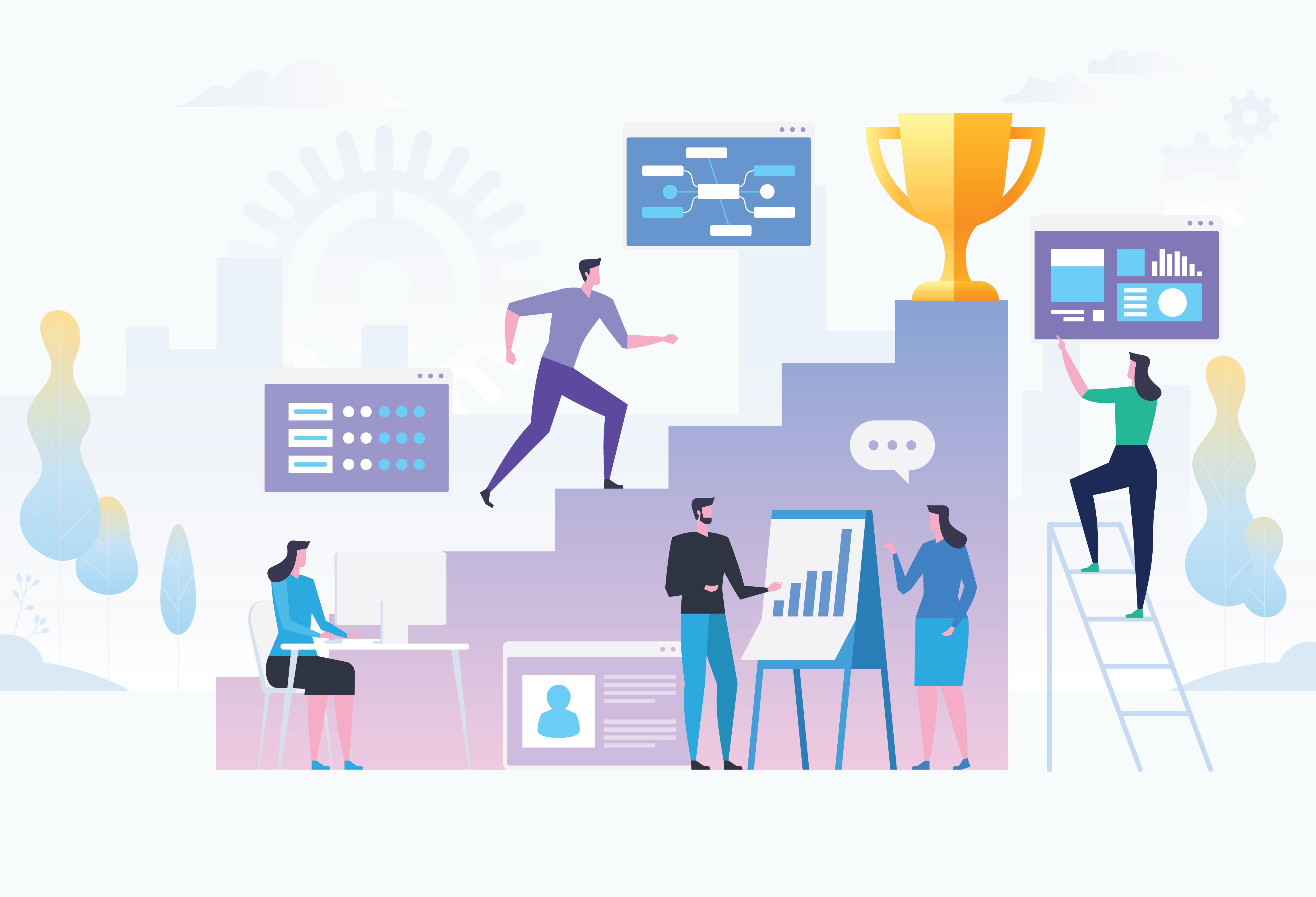 5 главных факторов, способствующих росту успеха клиентов